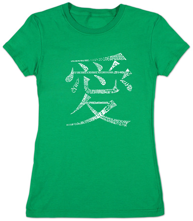 Juniors: Chinese Symbol For Love T-shirts