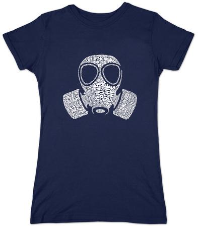 Juniors: Gas Mask T-Shirt