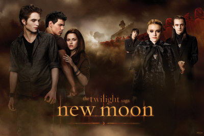Twilight  Moon on Twilight   New Moon Poster Su Allposters It