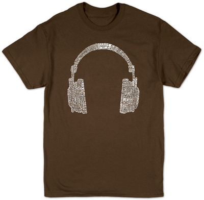Headphones T-Shirt