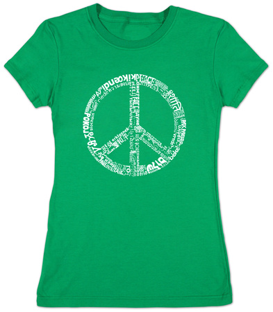 Juniors: Peace 77 T-Shirt