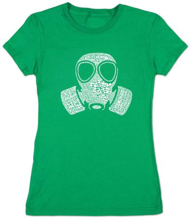 Juniors: Gas Mask T-shirts