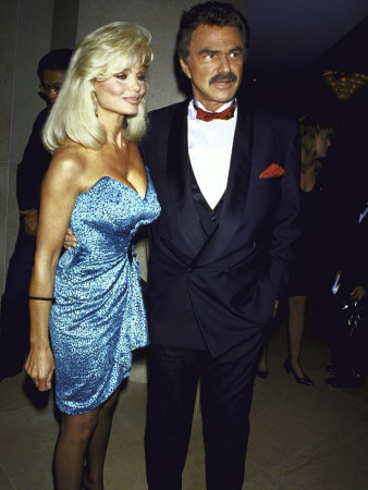 Married Actors Loni Anderson and Burt Reynolds Premium-Fotodruck
