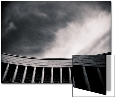 Architectural Study of Rigid Lines Poster by Edoardo Pasero