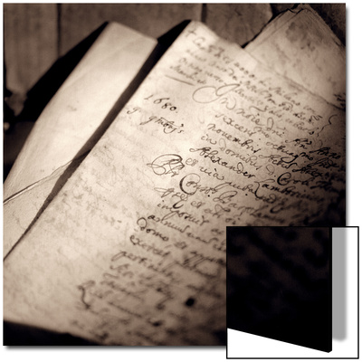 Detail of Manuscript Posters by Edoardo Pasero