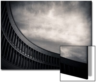 Architectural Study of Lines and Sky Print by Edoardo Pasero