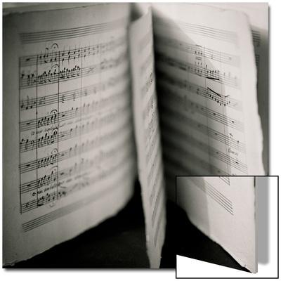 Detail of Page Music Posters by Edoardo Pasero
