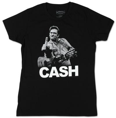Juniors: Johnny Cash - Flippin' Shirts