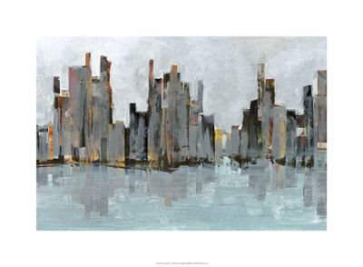 Second City I Giclée-tryk