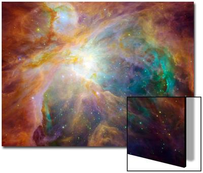 Mlhovina v Orionu UMĚNÍ NA AKRYLU