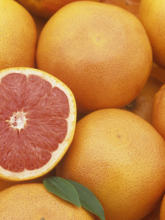 Grapefruit Photographic Print by Wally Eberhart
