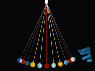 Pendulum Half Cycle Photographic Print by Loren Winters