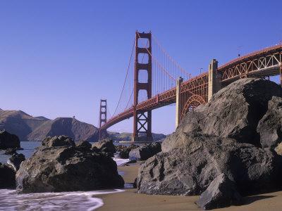 Golden Gate Bridge, Golden Gate National Recreation Area, San Francisco, California, USA Photographic Print by Adam Jones