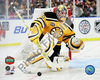 Tim Thomas 2010 NHL Winter Classic Foto