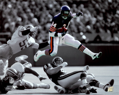 NFL Walter Payton Photo