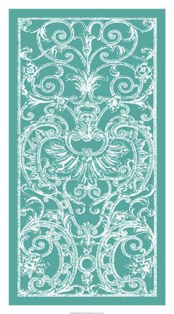 Graphic Ironwork II Giclee Print