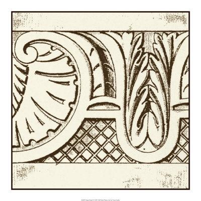 Sepia Detail I Giclee Print