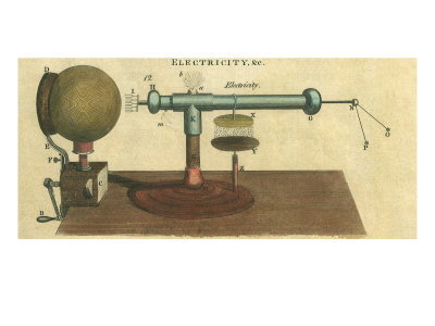 Electricity, Hydraulics Giclee Print