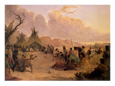 Medicine Dance, 1848 Giclee Print