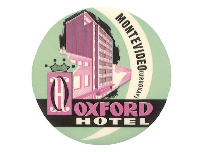 The Oxford, Montevideo Giclee Print