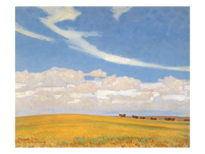 Prairie after Storm, 1921 Giclee Print by Maynard Dixon