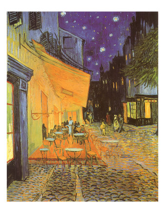 Night Café, 1888 Giclee Print