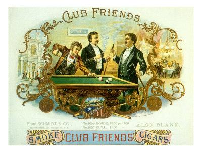 Club Friends Giclee Print