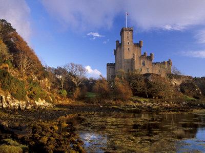 Dunvegan Castle, Restored 1840, Isle of Skye, Inner Hebrides, Highland Region, Scotland, UK Photographic Print by Patrick Dieudonne