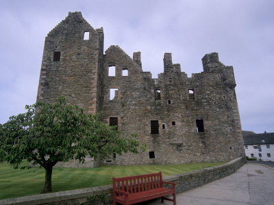 Maclellan's Castle, Kirkcudbright, Dumfries and Galloway, Scotland, United Kingdom, Europe Photographic Print by Patrick Dieudonne