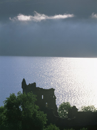 Urquhart Castle, Loch Ness, Highlands, Scotland, United Kingdom, Europe Photographic Print by Patrick Dieudonne