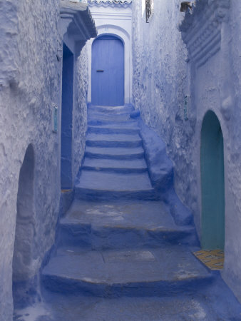 Chefchaouen, Near the Rif Mountains, Morocco, North Africa, Africa Photographic Print by Ethel Davies