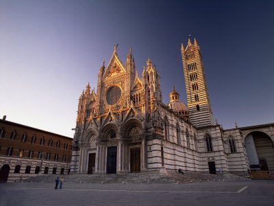 Duomo, Dating from the 12th to 14th Centuries, Siena, Tuscany, Italy, Europe Photographic Print by Patrick Dieudonne