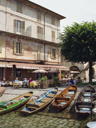 Orta San Guilio, Lake Orta, Piemonte, Italy, Europe Photographic Print by Robert Harding