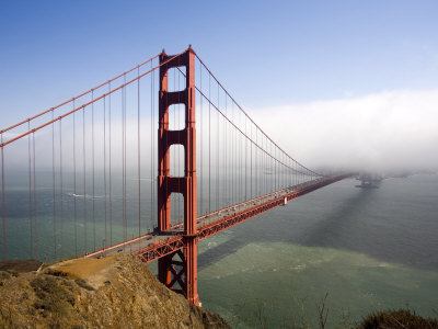 Golden Gate Bridge, San Francisco, California, United States of America, North America Photographic Print by Levy Yadid