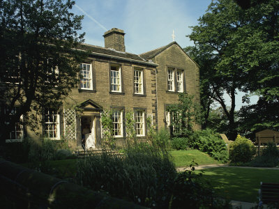 Bronte Parsonage, Haworth, West Yorkshire, England, United Kingdom, Europe Photographic Print by Harding Robert