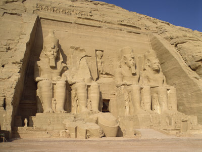 Great Temple of Ramses II, Abu Simbel, UNESCO World Heritage Site, Nubia, Egypt Photographic Print by Harding Robert