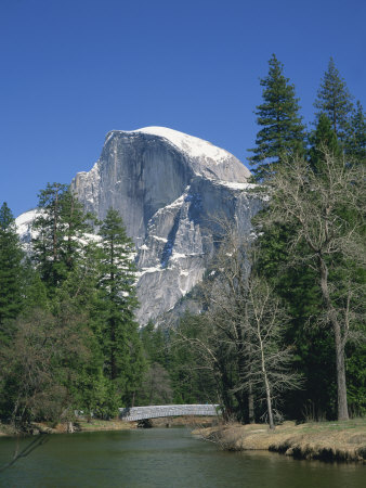 Half Dome Mountain in Yosemite National Park, California, USA Photographic Print by Rainford Roy