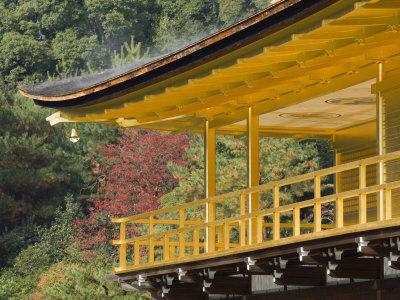 Kinkakuji Temple, Kyoto, Kansai, Honshu, Japan Photographic Print by Schlenker Jochen