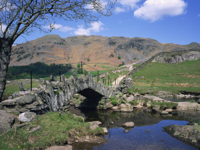 Slaters Bridge, Little Langdale, Lake District, Cumbria, England, United Kingdom, Europe Photographic Print by Rainford Roy