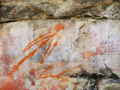 Aboriginal Rock Art, Ubirr, Kakadu National Park, Northern Territory, Australia, Pacific Photographic Print by Schlenker Jochen