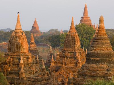 Raya-Nga-Zu Group, Bagan, Myanmar Photographic Print by Schlenker Jochen