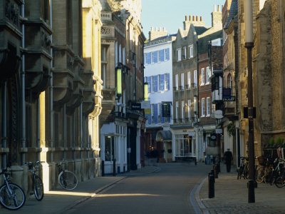 Trinity Street, Cambridge, Cambridgeshire, England, United Kingdom, Europe Photographic Print by Tomlinson Ruth