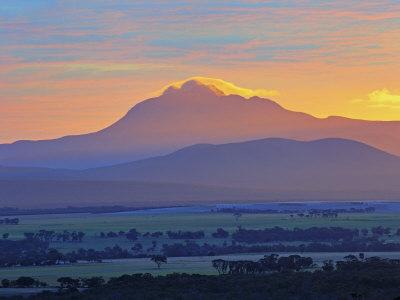 Sunrise, Stirling Range, Stirling Range National Park, Western Australia, Australia, Pacific Photographic Print by Schlenker Jochen
