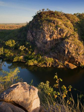Katherine Gorge and Katherine River, Nitmiluk National Park, Northern Territory, Australia, Pacific Photographic Print by Schlenker Jochen