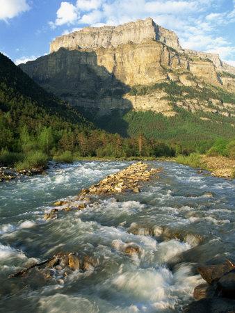 River Arazas, Ordesa National Park, Pyrenees, Huesca, Aragon, Spain, Europe Photographic Print by Tomlinson Ruth