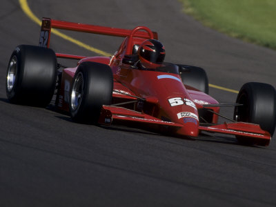 Formula Atlantic Racing Car Action Photographic Print