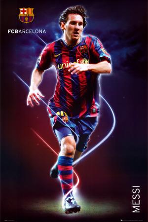 Barcelona   Messi Plakat