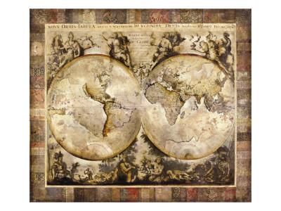 Old World Premium Giclee Print by Edwin Douglas