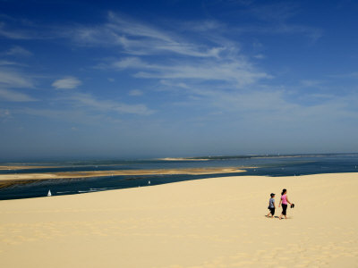 Dune Du Pyla, the Largest Dune in Europe, Bay of Arcachon, Gironde, Aquitaine, France Photographic Print by Groenendijk Peter