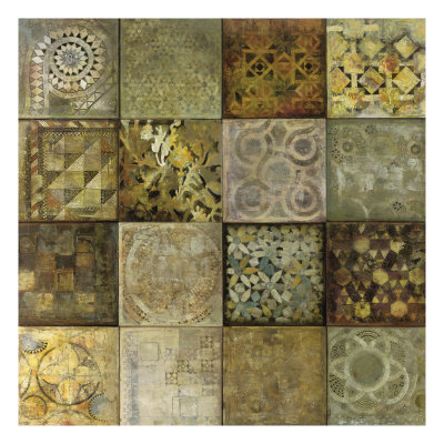 Geo Mosaic Premium Giclee Print by Edwin Douglas